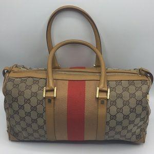 Authentic Gucci Satchel Handbag